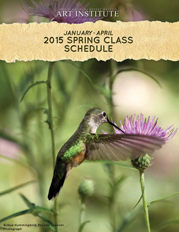 Front cover - Spring 2015 Catalog