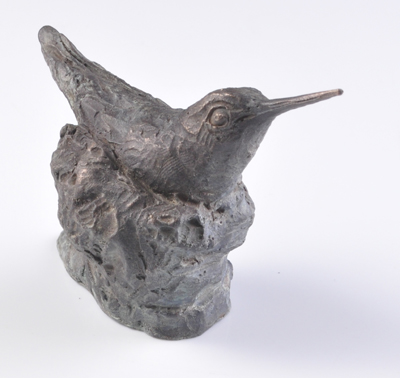 Nesting Hummingbird Sculpture