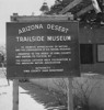 Thumbnail of Arizona Desert Trailside Museum Sign
