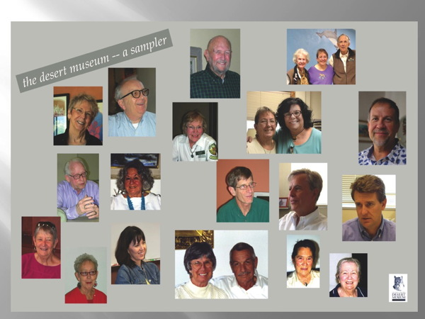 First Collage of Faces of our Oral History Project