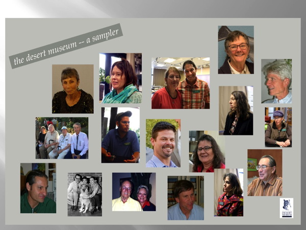 Third Collage of Faces of our Oral History Project