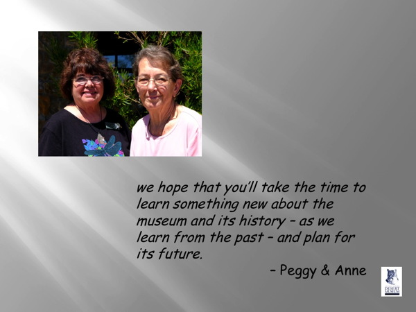 Peggy and Anne