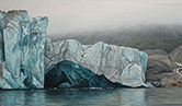 Arctic Oil Painting