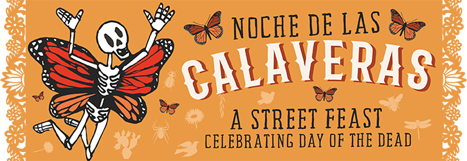 Noche de las Calaveras - A Street feast celebrating day of the dead