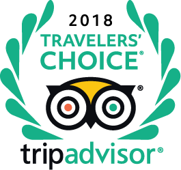 Trip Advisor Traveler's Choice 2018
