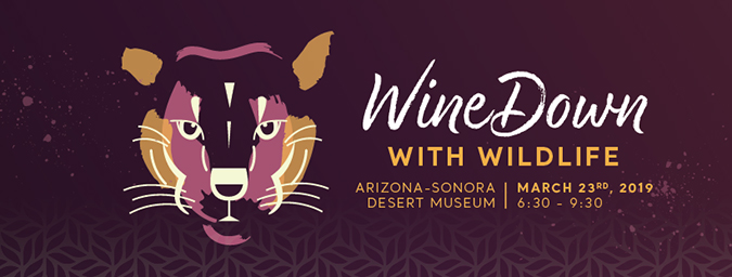 Wine Down with Wildlife - March 23rd, 2019 - 6:30 to 9:30 p.m.