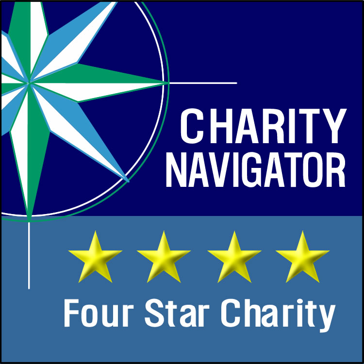 2020 Charity Navigator 4 star rated