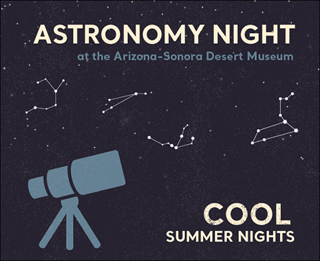 Cool Summer Nights - Astronomy Night - Open til 10 Saturday June 22nd